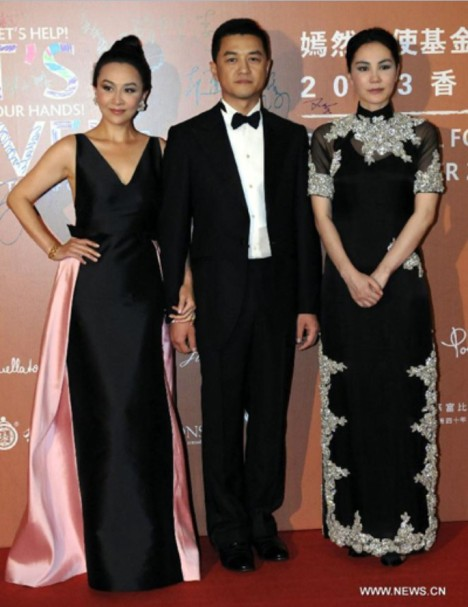 Carina Lau, Yapeng and Faye